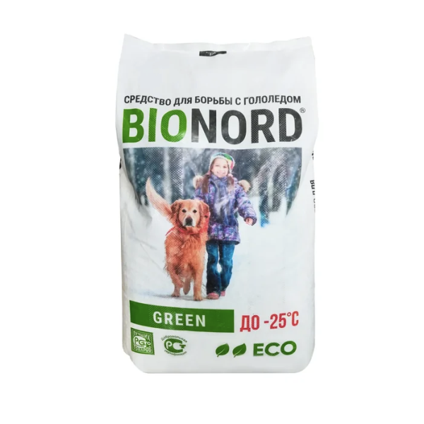 Противогололедный материал Bionord-GREEN