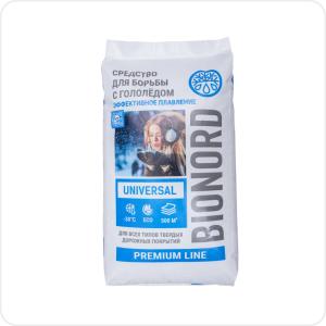 Противогололедный материал Bionord-universal